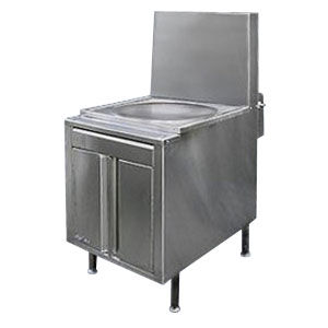 Steamer range base unit