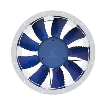 cased axial extractor fan ziehl abegg