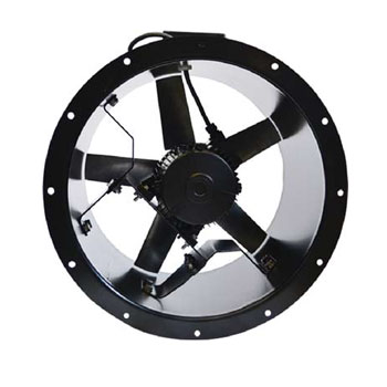 cased axial extractor fan vent axia