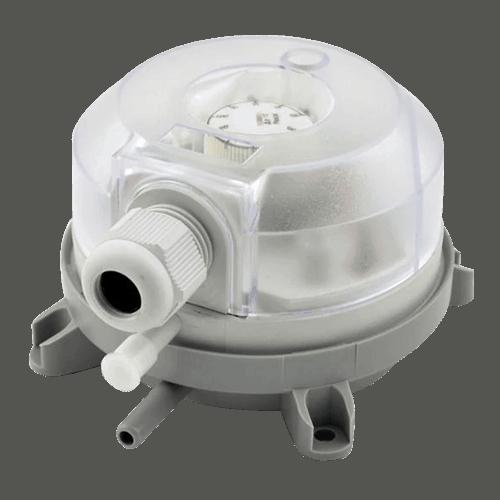 gas interlock system air differential pressure switch