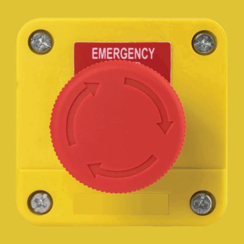 gas interlock system emergency switch
