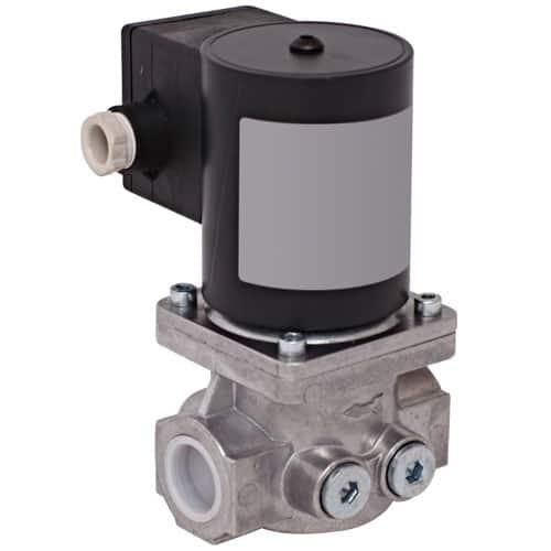 GIS shut off solenoid valve