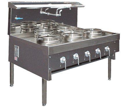 medium duty wok cooker range
