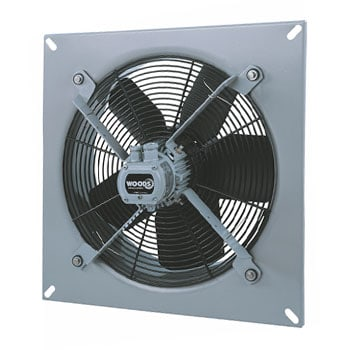 plate axial extractor fan flakt woods