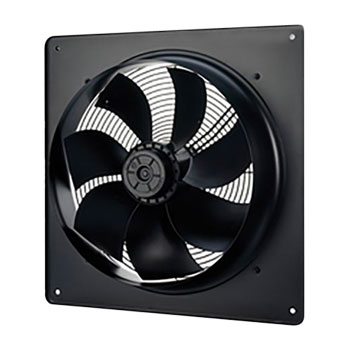 plate axial extractor fan vent axia