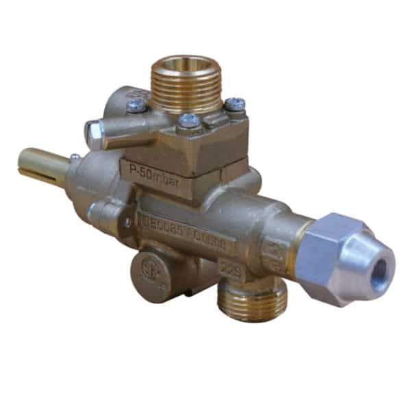 s22 safety gas valve vertical outlet