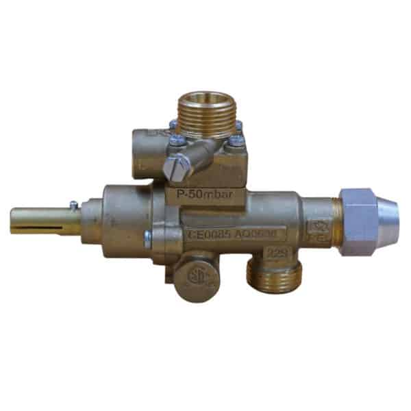 s22 safety gas valve vertical outlet 2
