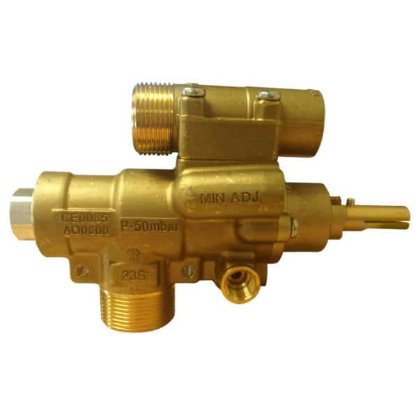 s23 safety gas valve horizontal outlet