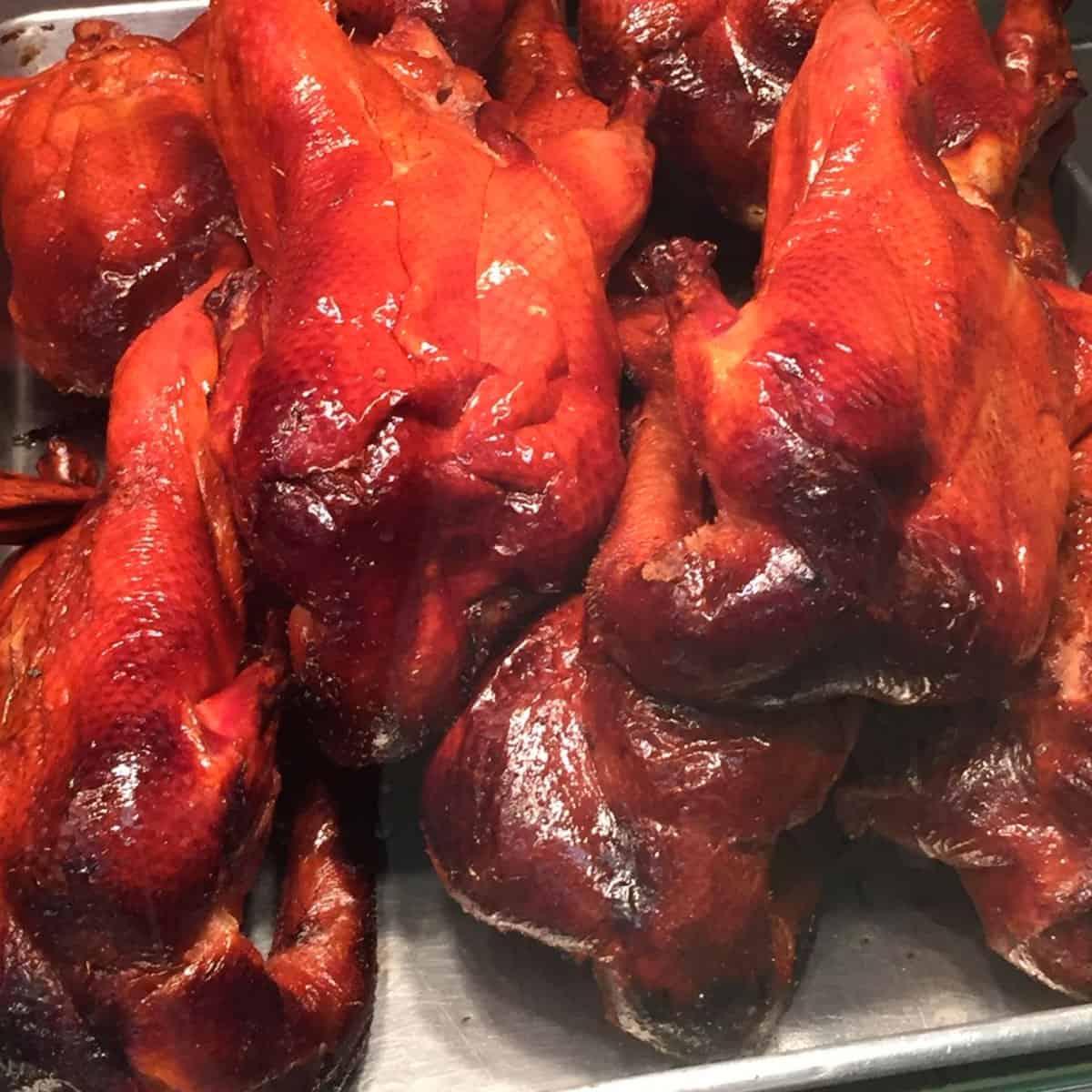 barbecue duck recipe