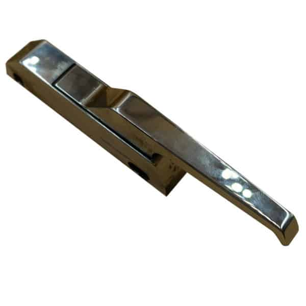 double action door handle for steamers and ovens