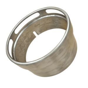 single skin stainless steel wok ring