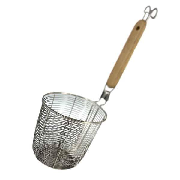 絲網麵食和麵食鍋爐籃